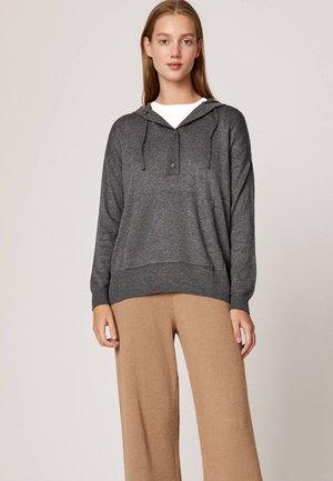 MIT KAPUZE  - Bluza z kapturem - dark grey