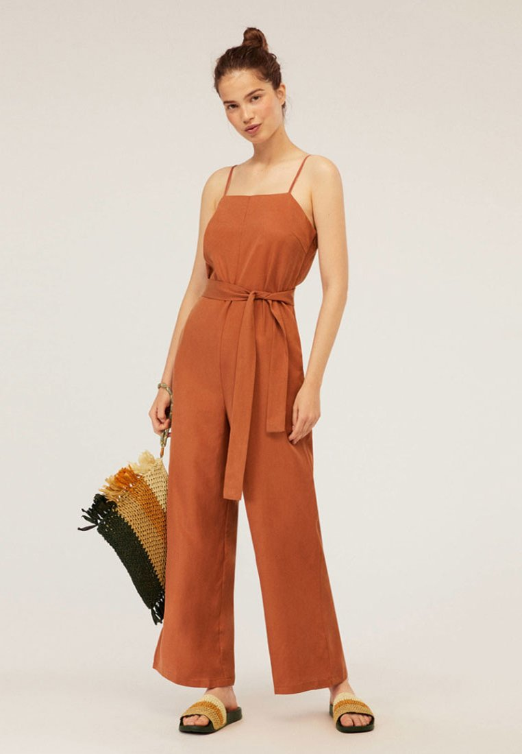 OYSHO - JOIN LIFE - Jumpsuit - brown