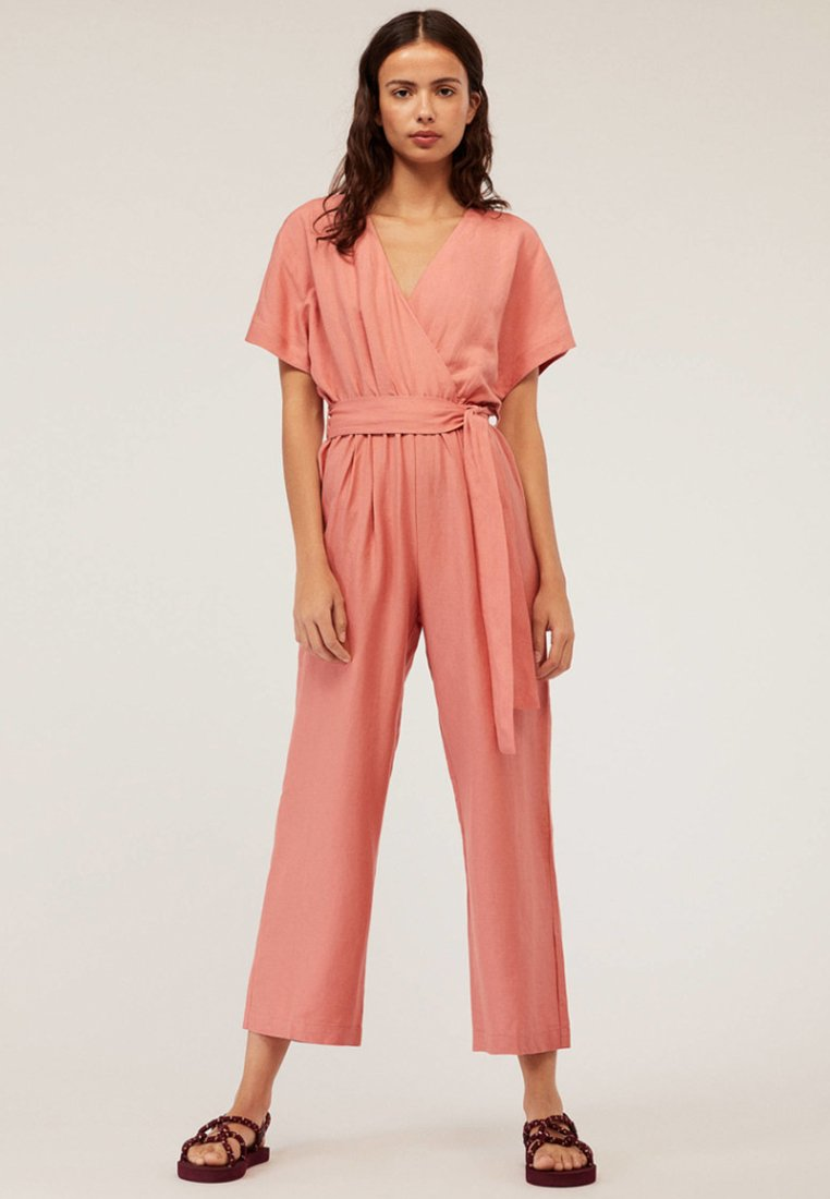OYSHO - JOIN LIFE  - Jumpsuit - rose