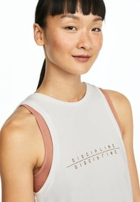 OYSHO_SPORT - Sports shirt - white - 4