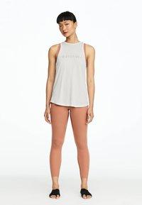 OYSHO_SPORT - Sports shirt - white - 1