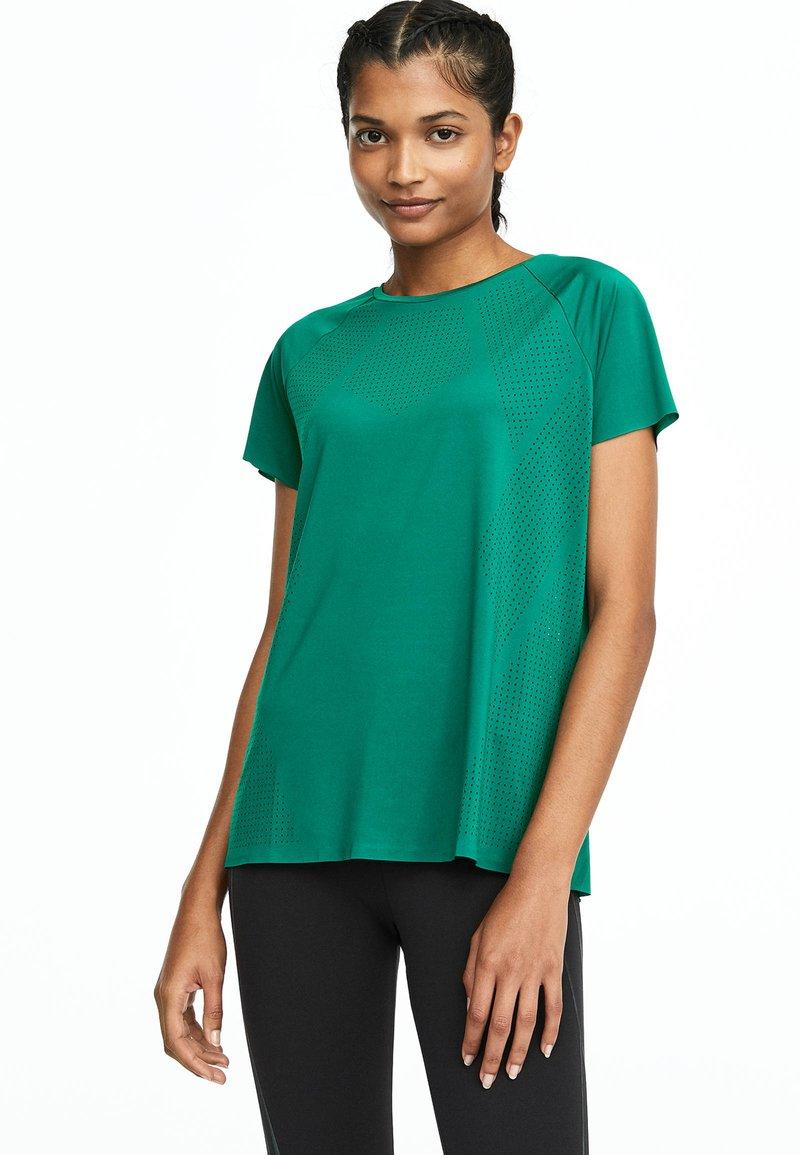 OYSHO_SPORT - Funktionsshirt - green