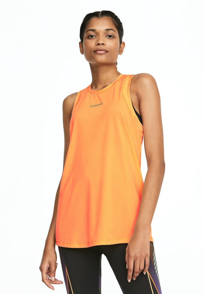 OYSHO_SPORT - Top - orange
