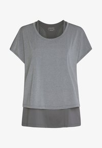 OYSHO_SPORT - T-shirt basique - grey - 5