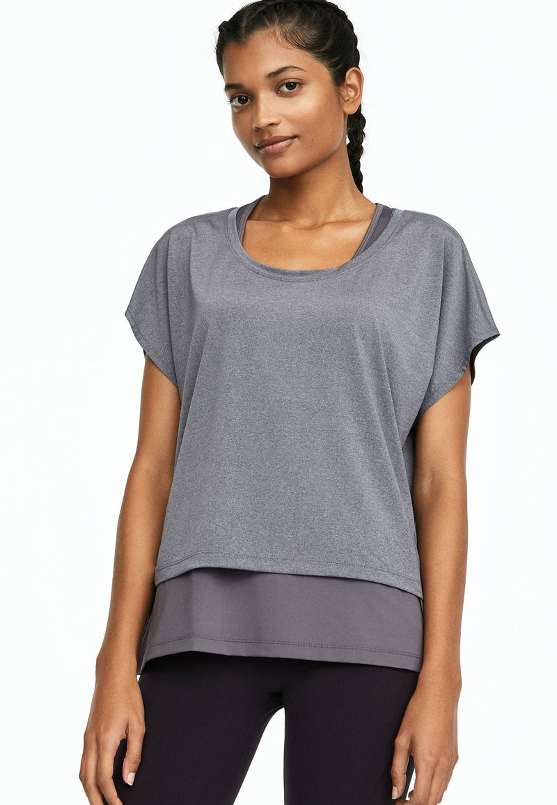 OYSHO_SPORT - T-shirt basique - grey