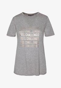 OYSHO_SPORT - MIT AUFSCHRIFT - T-shirt imprimé - grey - 5