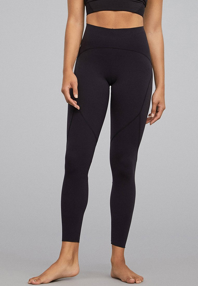 OYSHO_SPORT - Tights - black