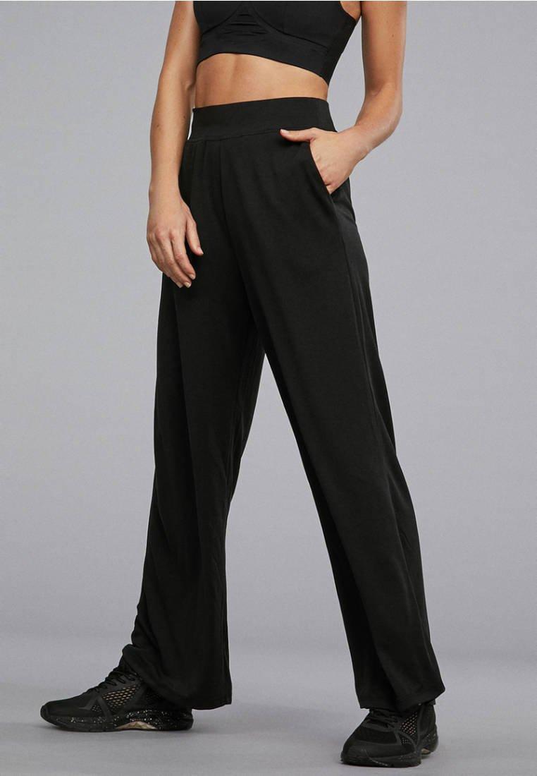 OYSHO_SPORT - Spodnie treningowe - black