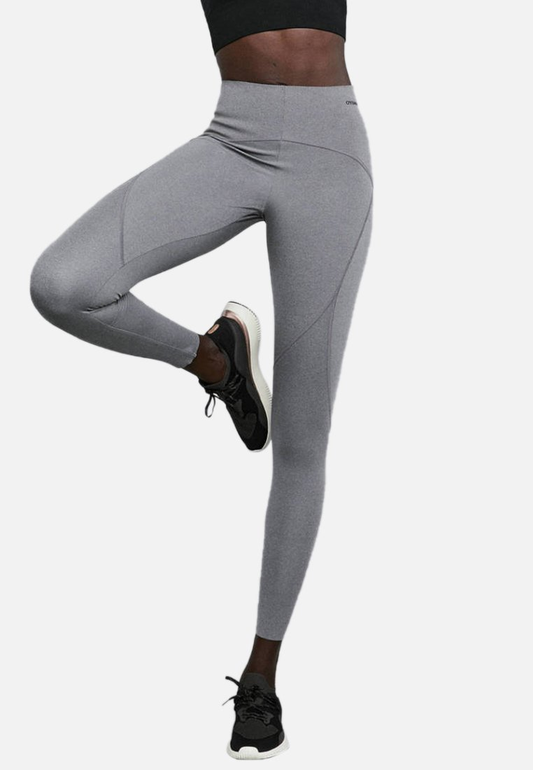 OYSHO_SPORT - SCULPT - Tights - grey