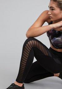 OYSHO_SPORT - SCULPT - Leggings - black - 4