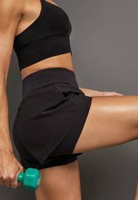 OYSHO_SPORT - Sports shorts - black - 4