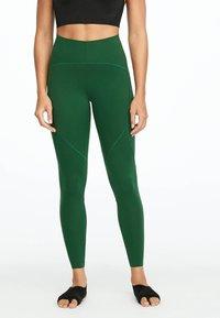OYSHO_SPORT - Collants - green - 0