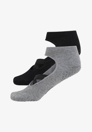 2ER-PACK  - Chaussettes de sport - black