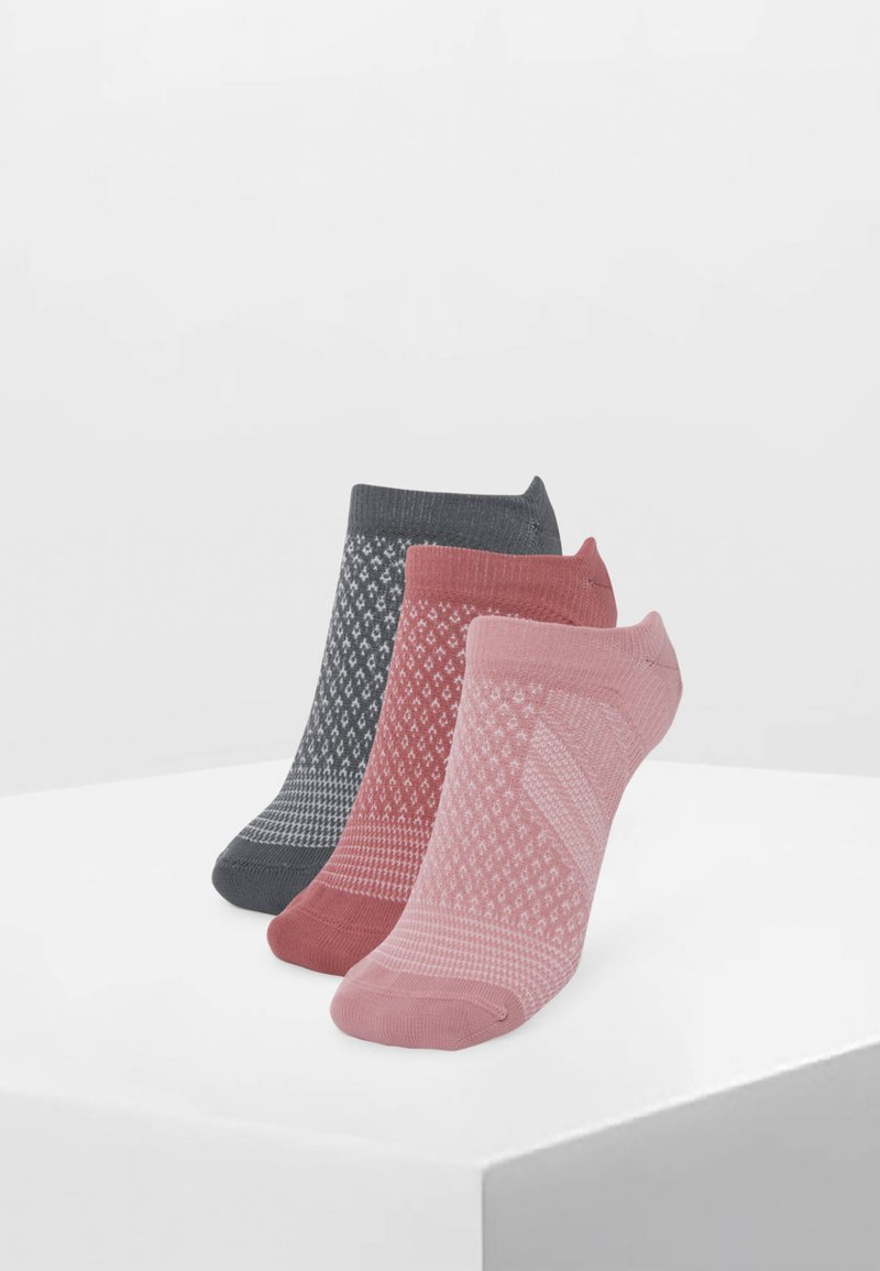 OYSHO - 3 PACK - Socquettes - pink