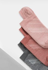 OYSHO - 3 PACK - Socquettes - pink - 5