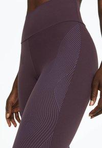 OYSHO_SPORT - Tights - dark purple - 4