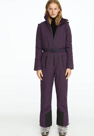 Täckbyxor - dark purple