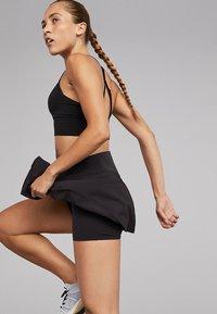 OYSHO_SPORT - Sports skirt - black - 2