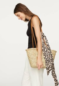 OYSHO - MIT ANIMALPRINT - Haaraccessoire - black - 2
