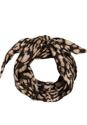 MIT ANIMALPRINT - Hair styling accessory - black