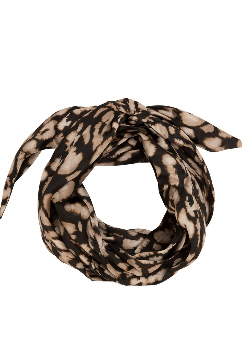 OYSHO - MIT ANIMALPRINT - Haaraccessoire - black