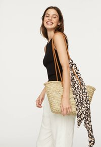 OYSHO - MIT ANIMALPRINT - Haaraccessoire - black - 1