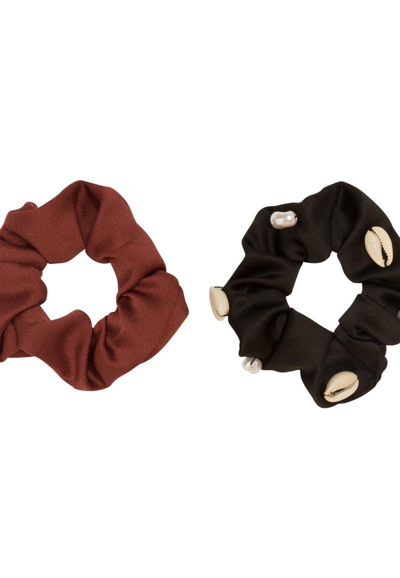 OYSHO - 2 PACK - Akcesoria do stylizacji włosów - black