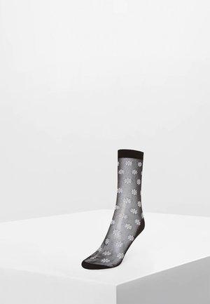 1 PAAR SOCKEN MIT GÄNSEBLÜMCHENPRINT 32781482 - Ponožky - black