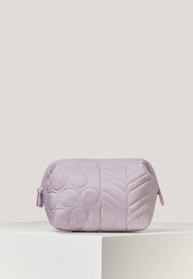 OYSHO - GESTEPPTES NECESSAIRE - Kosmetická taška - mauve