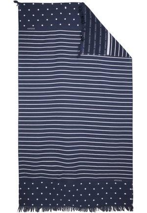 HANDTUCH IM MARITIMEN DESIGN 30833439 - Serviette de plage - dark blue
