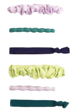 6 HAARGUMMIS IN VERSCHIEDENEN FARBEN 30933413 - Hårstyling-accessories - mauve