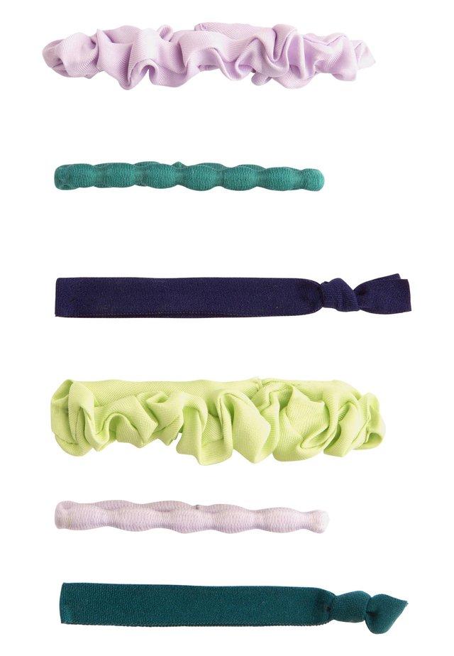 6 HAARGUMMIS IN VERSCHIEDENEN FARBEN 30933413 - Hair Styling Accessory - mauve
