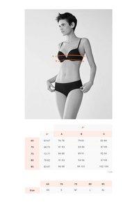 OYSHO - Kaarituelliset rintaliivit - grey - 7