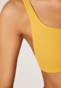OYSHO - Bikiniyläosa - yellow - 3