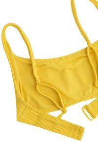 OYSHO - Bikini top - yellow - 7