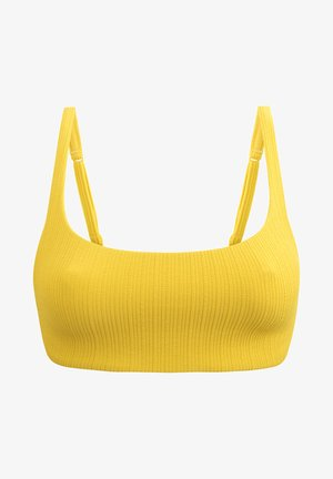 Bikini top - yellow