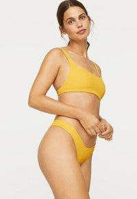 OYSHO - Bikini top - yellow - 1