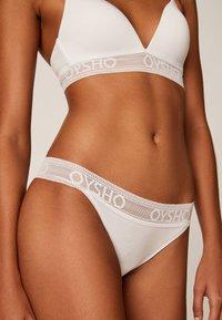 OYSHO - Triangel BH - white - 3