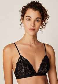OYSHO - Triangel BH - black - 4
