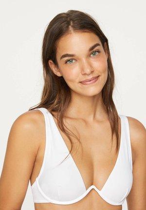 BIKINIOBERTEIL MIT BÜGEL 30716333 - Bikini top - white