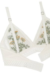 OYSHO - Triangel BH - white - 7