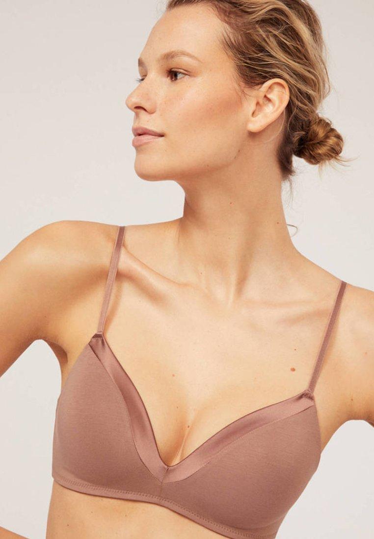 OYSHO - Triangle bra - brown