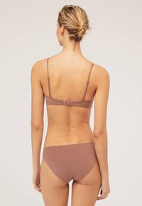 OYSHO - Triangle bra - brown - 2