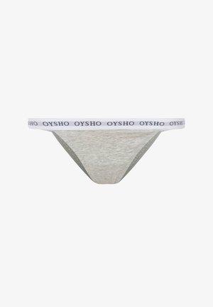 MIT LOGO AUF DEM ELASTIKBUND - Slip - light grey
