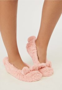 OYSHO - MIT MAUSDETAILS - Socks - rose - 3