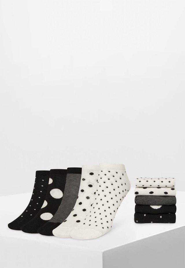 5 PACK - Sokken - black