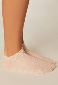 OYSHO - 5 PACK - Sportovní ponožky - white - 4