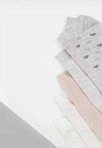 OYSHO - 5 PACK - Sportovní ponožky - white - 7
