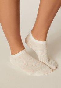 OYSHO - 5 PACK - Sportovní ponožky - white - 1