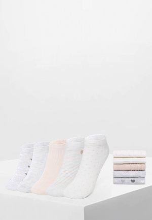 5 PACK - Enkelsokken - white